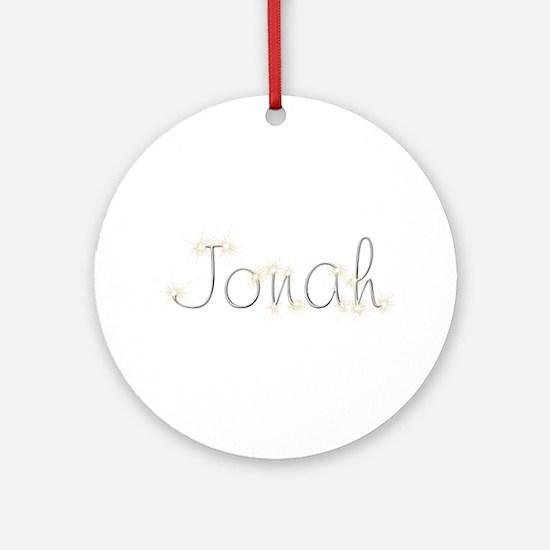 Jonah Spark Round Ornament