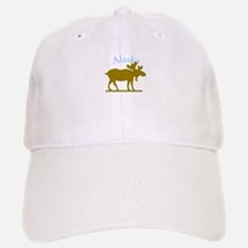 Alaskan Moose For Black Backgrounds Baseball Baseball Cap