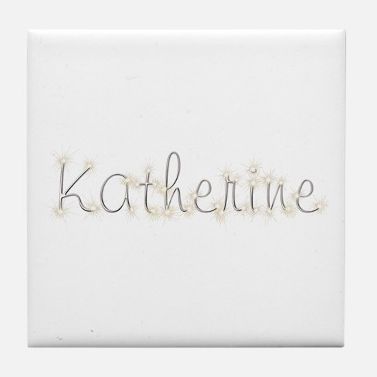 Katherine Spark Tile Coaster