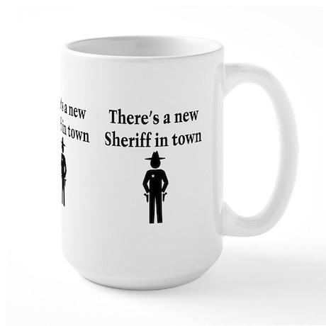 SHERIFF Large Mug