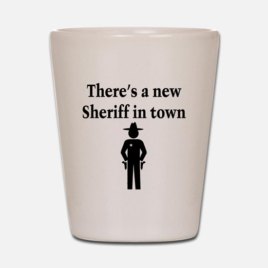 SHERIFF Shot Glass