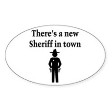 SHERIFF Decal