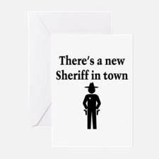 SHERIFF Greeting Cards (Pk of 10)