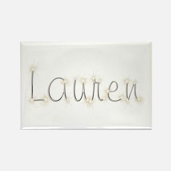 Lauren Spark Rectangle Magnet