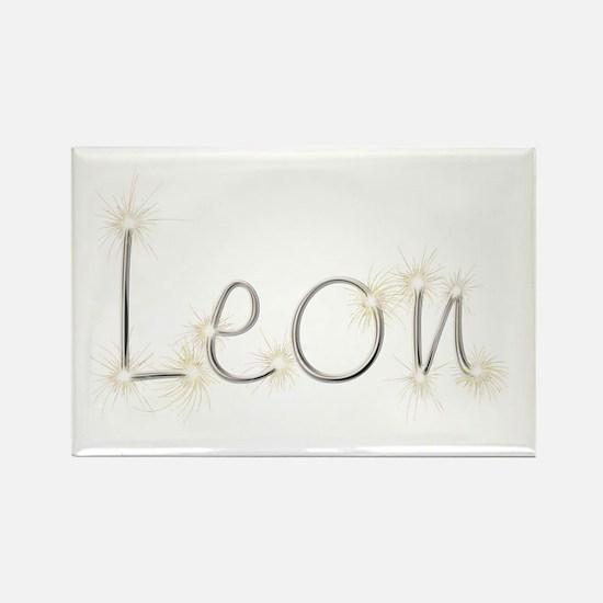 Leon Spark Rectangle Magnet