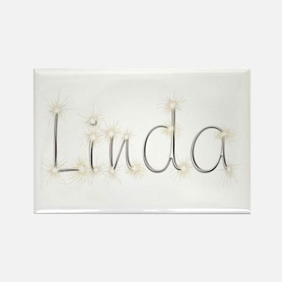 Linda Spark Rectangle Magnet