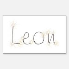 Leon Spark Rectangle Decal