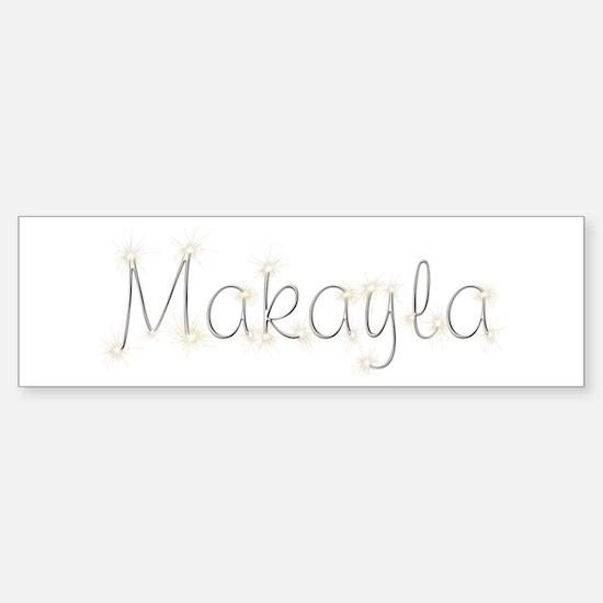 Makayla Spark Bumper Car Car Sticker