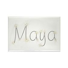 Maya Spark Rectangle Magnet