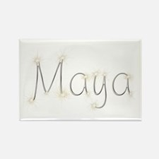 Maya Spark Rectangle Magnet