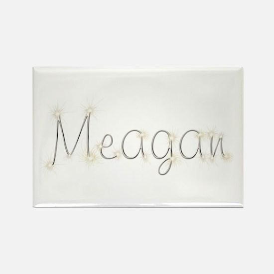 Meagan Spark Rectangle Magnet