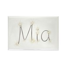 Mia Spark Rectangle Magnet