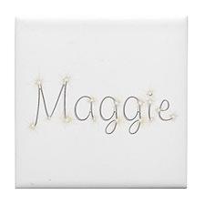 Maggie Spark Tile Coaster