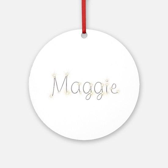 Maggie Spark Round Ornament