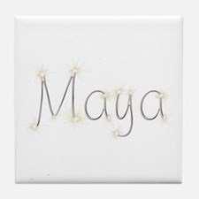 Maya Spark Tile Coaster
