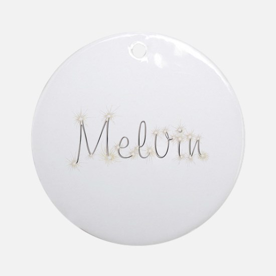 Melvin Spark Round Ornament