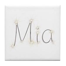 Mia Spark Tile Coaster
