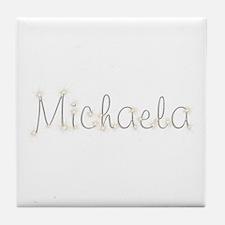 Michaela Spark Tile Coaster