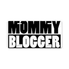Mommy Blogger - Mommy Blog Stacked Aluminum Licens