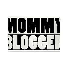 Mommy Blogger - Mommy Blog Stacked Rectangle Magne
