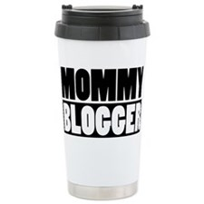 Mommy Blogger - Mommy Blog Stacked Travel Mug