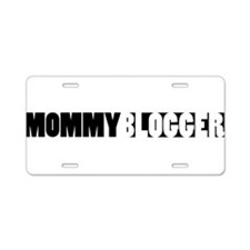 Mommy Blogger - Mommy Blog Bar Aluminum License Pl