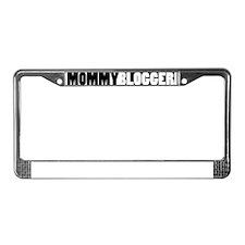 Mommy Blogger - Mommy Blog Bar License Plate Frame