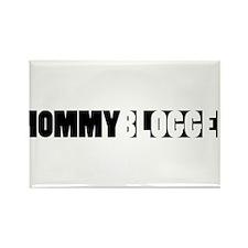 Mommy Blogger - Mommy Blog Bar Rectangle Magnet