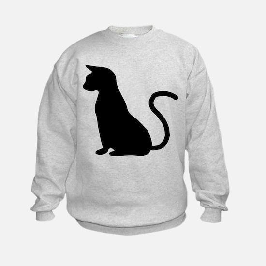 Cat Silhouette Sweatshirt