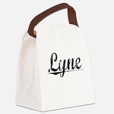Lyne, Aged, Canvas Lunch Bag