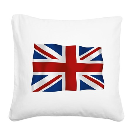 uklong.png Square Canvas Pillow