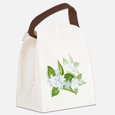 jasmineflowers2.png Canvas Lunch Bag