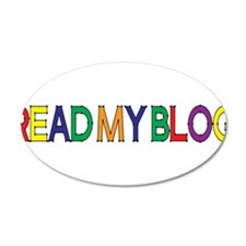 Read My Blog, Color, Vector Wall Decal