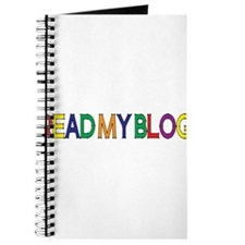 Read My Blog, Color, Vector Journal