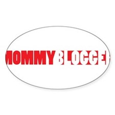 Mommy Blogger, Red, Mommy Blog Decal