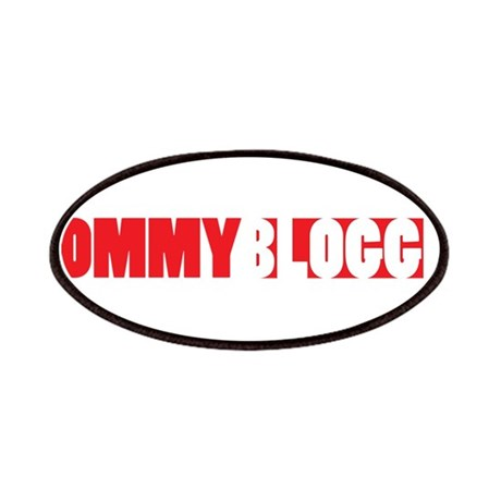 Mommy Blogger, Red, Mommy Blog Patches