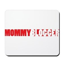 Mommy Blogger, Red, Mommy Blog Mousepad