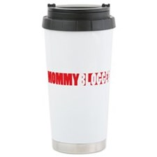 Mommy Blogger, Red, Mommy Blog Travel Mug