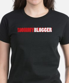 Mommy Blogger, Red, Mommy Blog Tee