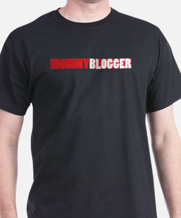 Mommy Blogger, Red, Mommy Blog T-Shirt