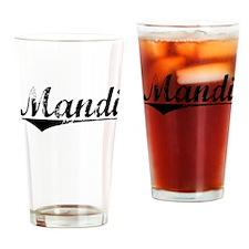 Mandi, Aged, Drinking Glass