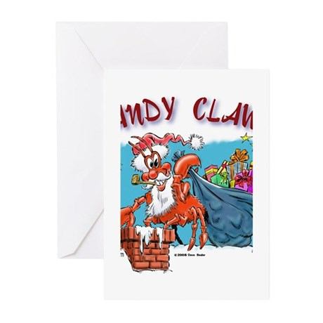 sandyclaws200 Greeting Cards