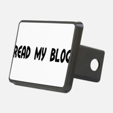 Read My Blog Round Daddy Blog Hitch Cover