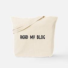 Read My Blog Round Daddy Blog Tote Bag