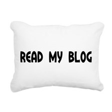 Read My Blog Round Daddy Blog Rectangular Canvas P