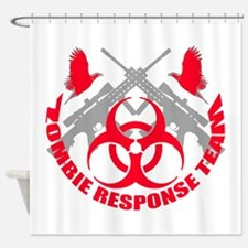 Zombie Response Team r Shower Curtain