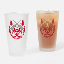 Zombie Response Team r Drinking Glass
