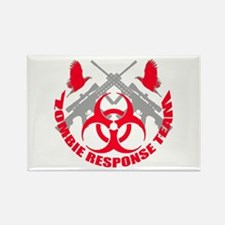 Zombie Response Team r Rectangle Magnet (100 pack)