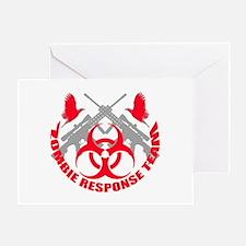 Zombie Response Team r Greeting Card