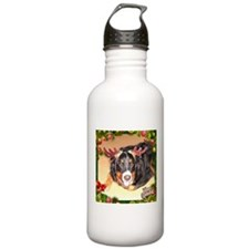 Berner Xmas, frame 1 Water Bottle